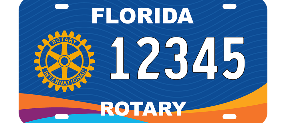 Image of Florida Rotary Tag